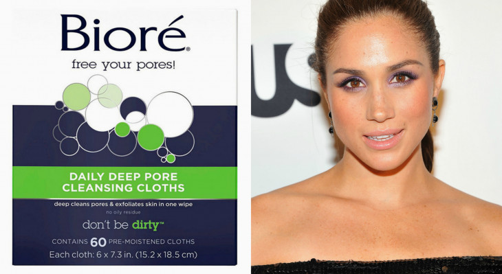 Очищающие салфетки Bioré Daily Deep Pore Cleansing Cloths