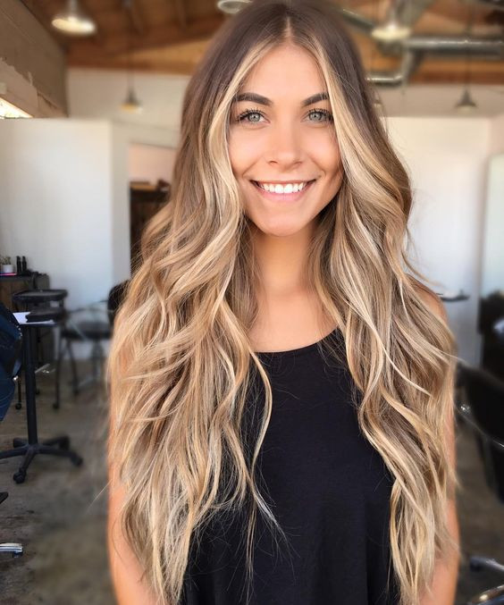 брондирование на русые волосы