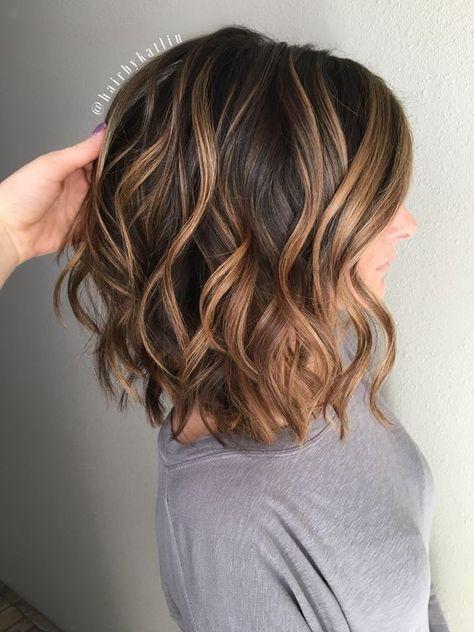 брондирование на темные волосы