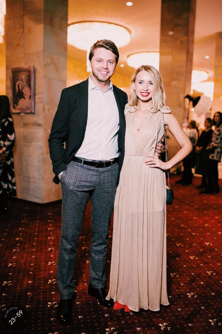 Маша Виноградова с мужем