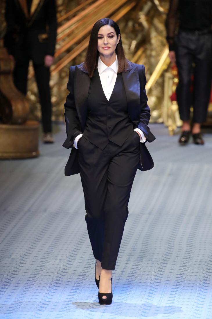 Моника Белуччи в Dolce&Gabbana