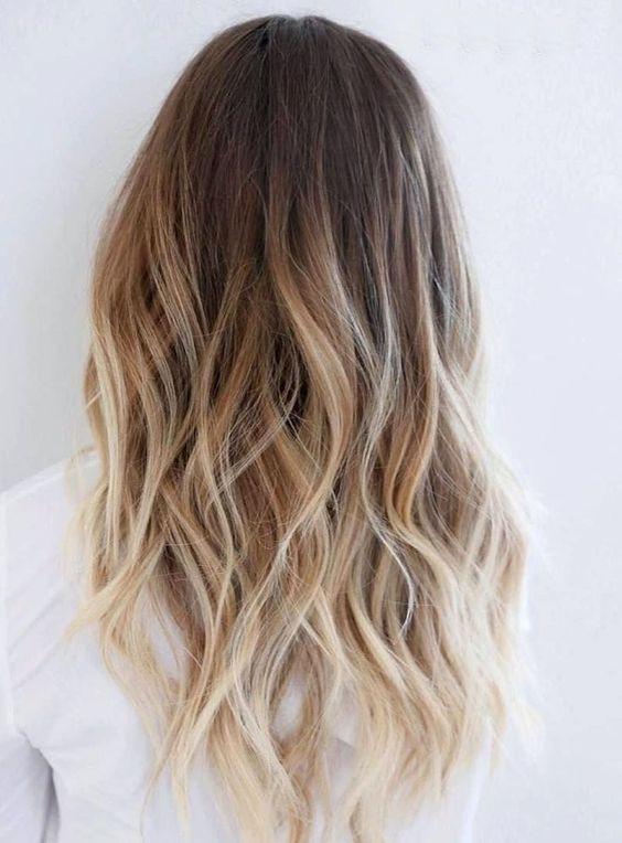 мелирование на светло русые волосы