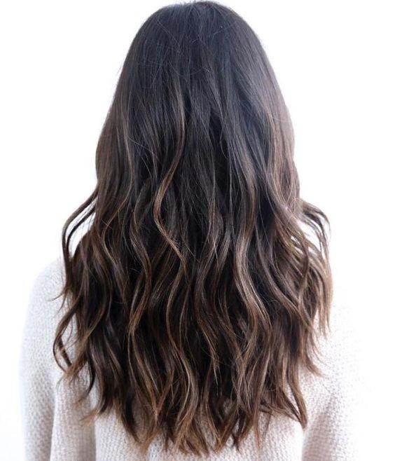 нитевое осветление волос