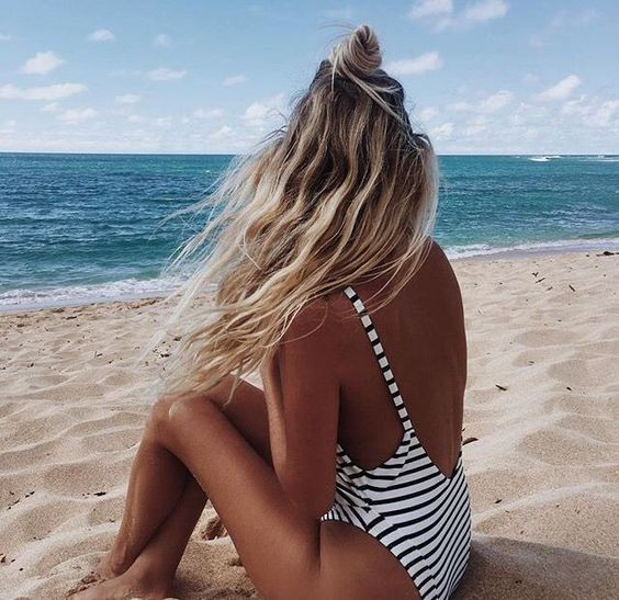 пляжные локоны