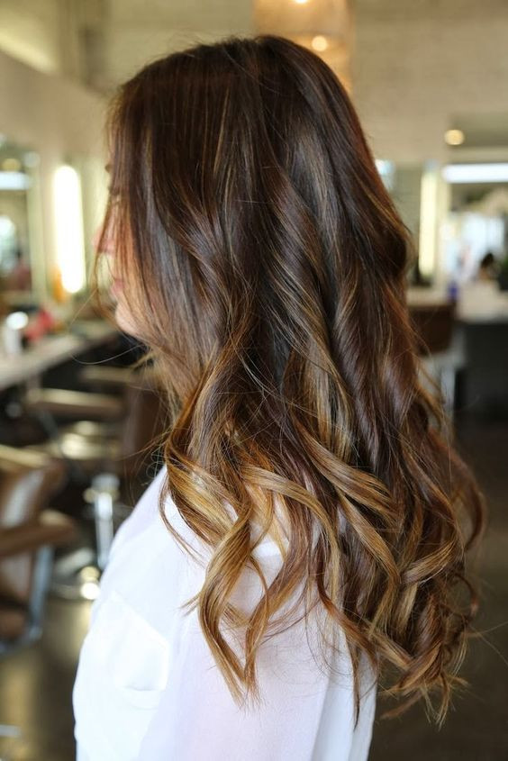 окрашивание волос бронд