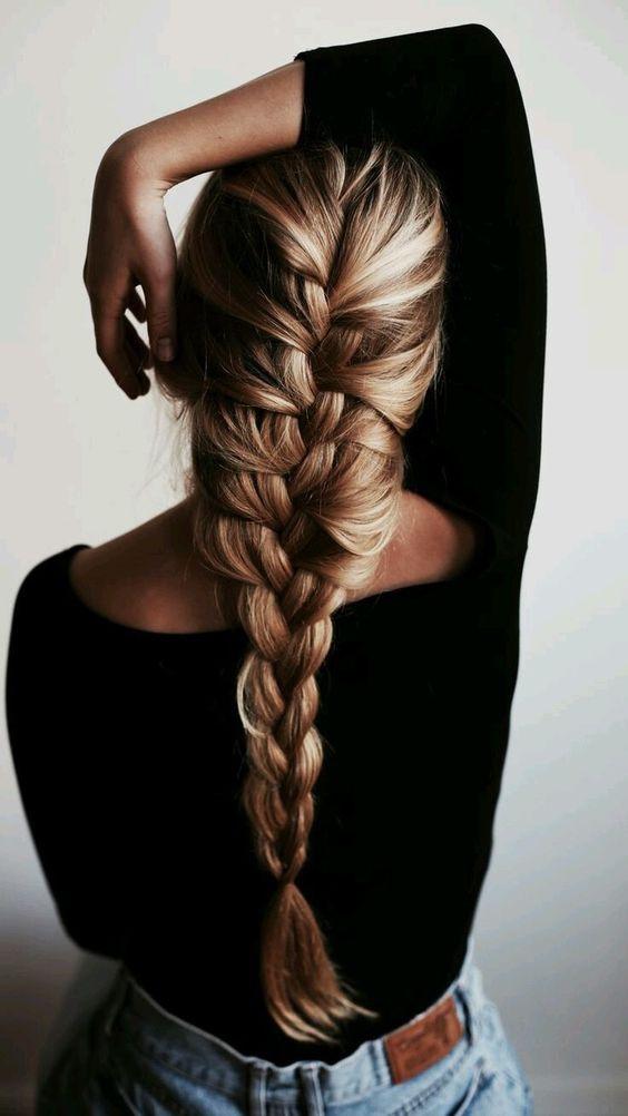 одна французская коса