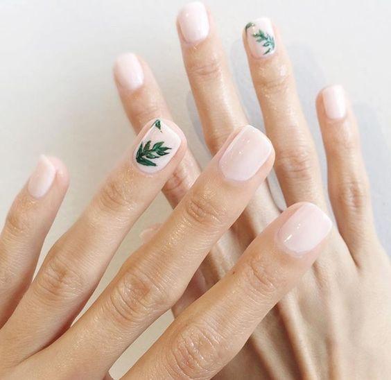 летний дизайн ногтей