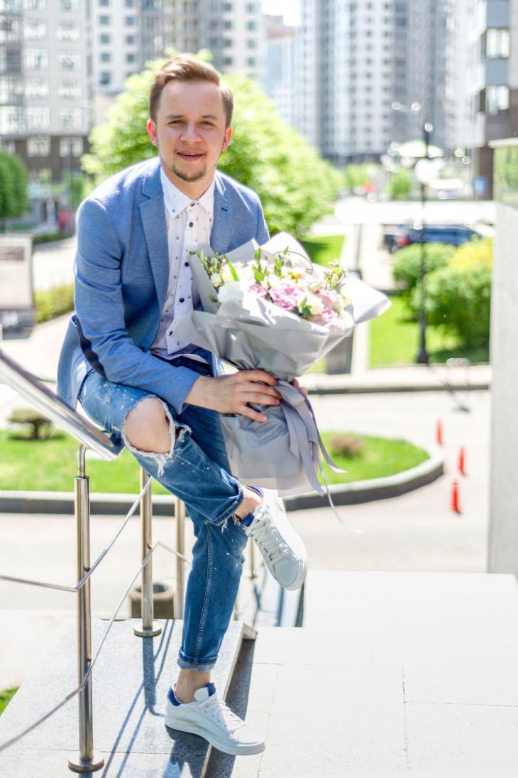 Артем Гагарин в интервью для Beauty.ua