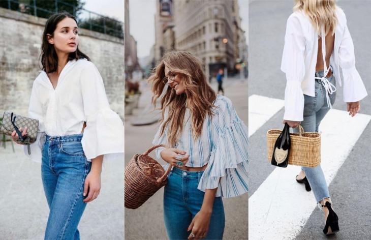модная блуза 2018