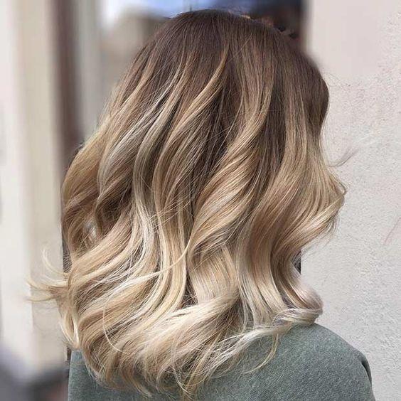 колорирование на темно русые волосы фото