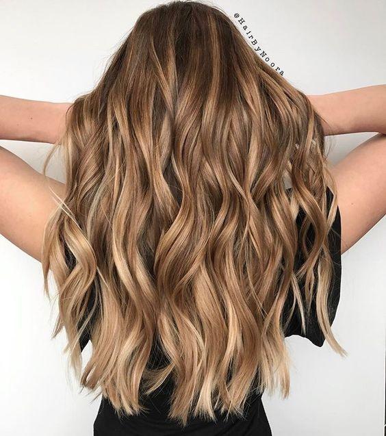 цвет волос кофе с молоком на осень