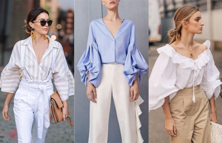 модная блузка 2018