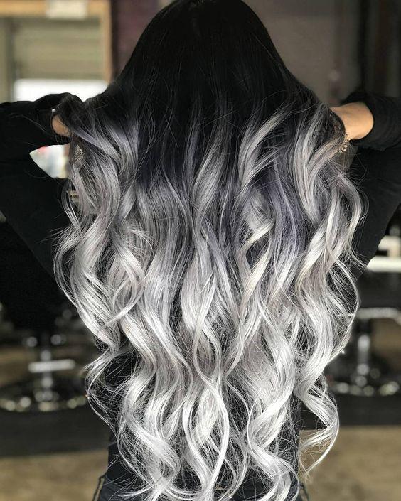 темно пепельный цвет волос