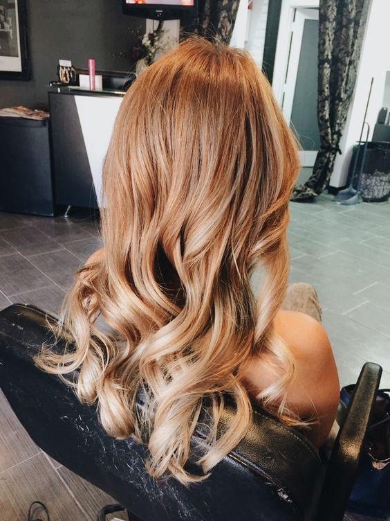 цвет волос карамель как добиться