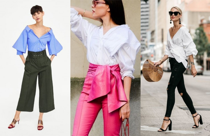 мода осень 2018