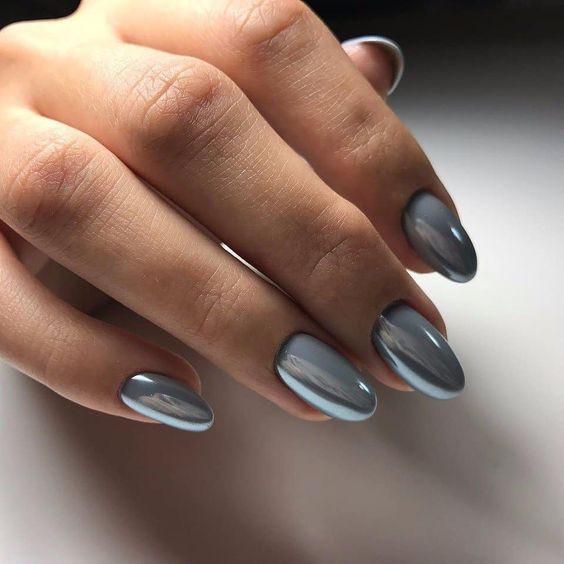 дизайн ногтей жемчуг