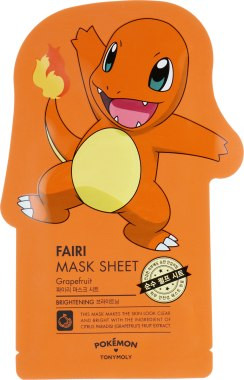 Pokemon Mask Sheet Fairi Brightening от Tony Moly
