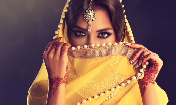 красота индианки