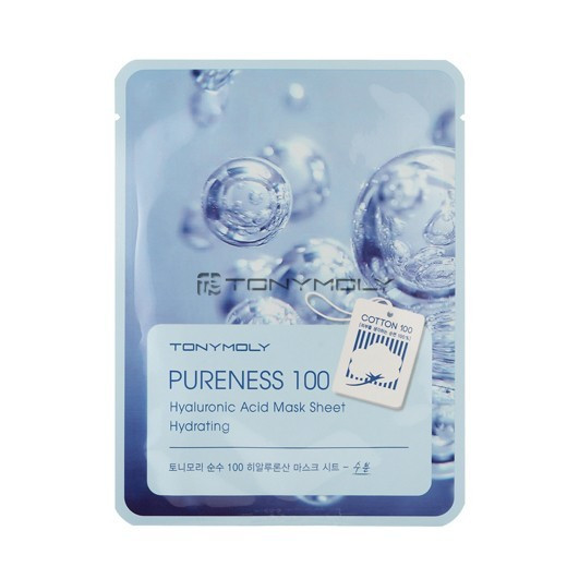 Pureness 100 Hyoluronic Mask Sheet от Tony Moly тканевая маска
