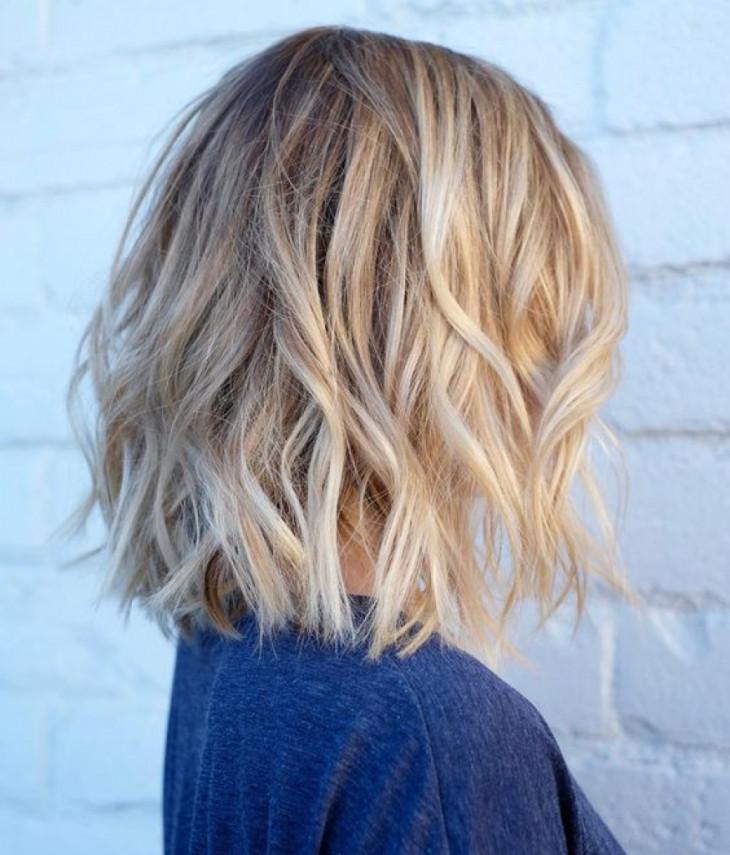 мелирование на светлых волосах