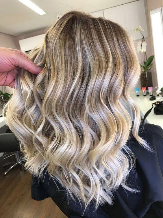 стильное мелирование на светлые волосы фото
