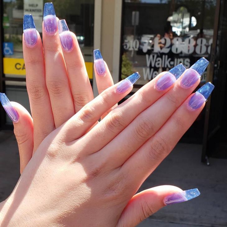 желейные ногти - новый тренд маникюра