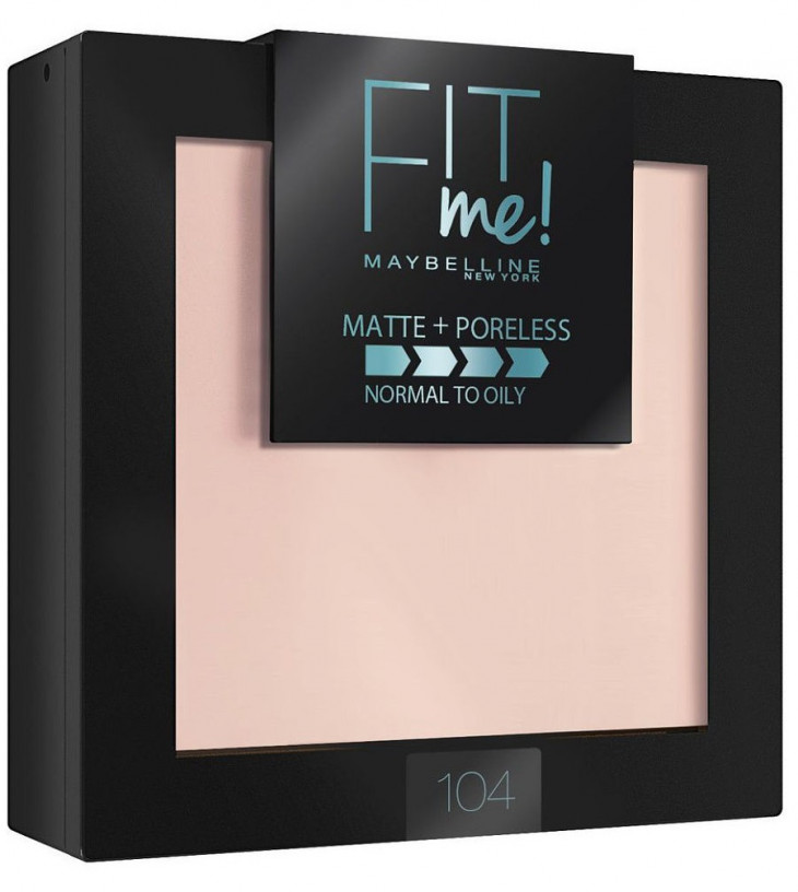 недорогая косметика Maybelline Fit Me Matte Poreless Powder
