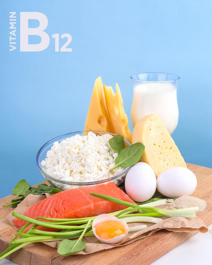 витамин б 12 в продуктах