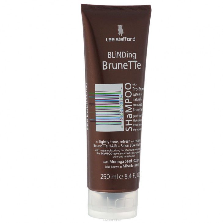 оттеночный шампунь Lee Stafford Blinding Brunette Shampoo