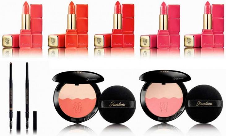 Коллекция макияжа Guerlain Colours of Kisses