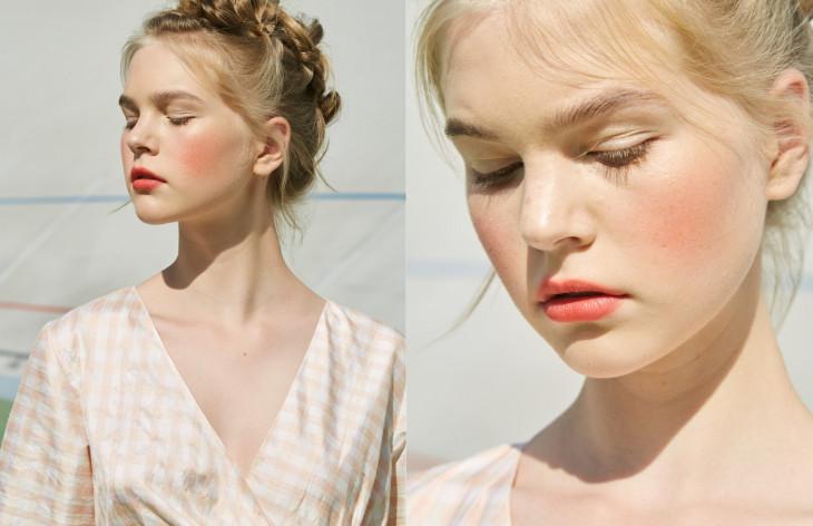 макияж с показа Lake Studio SS'19