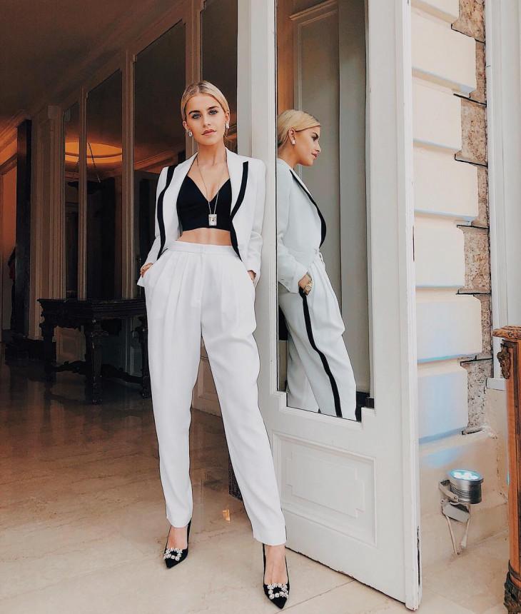 белый пиджак мода 2018