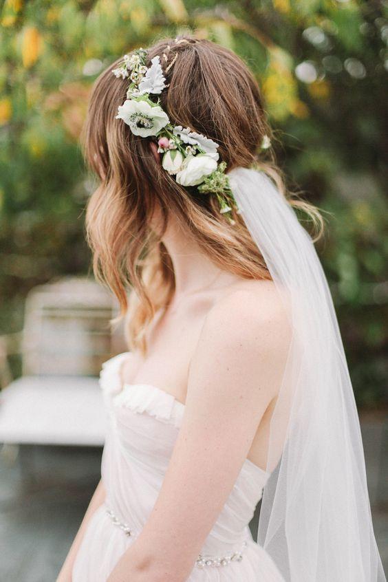 воздушная прическа на свадьбу 2018
