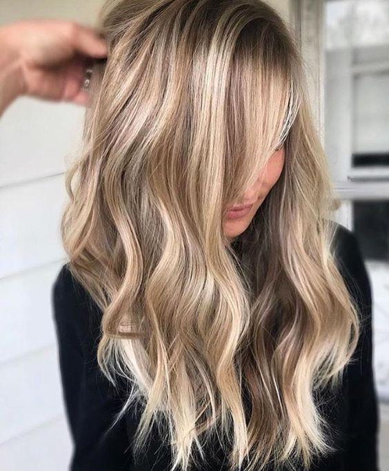 колорирование светлых волос особенности