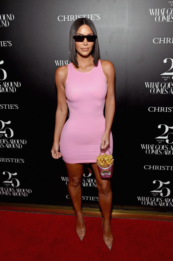 Ким Кардашьян в Vintage Versace