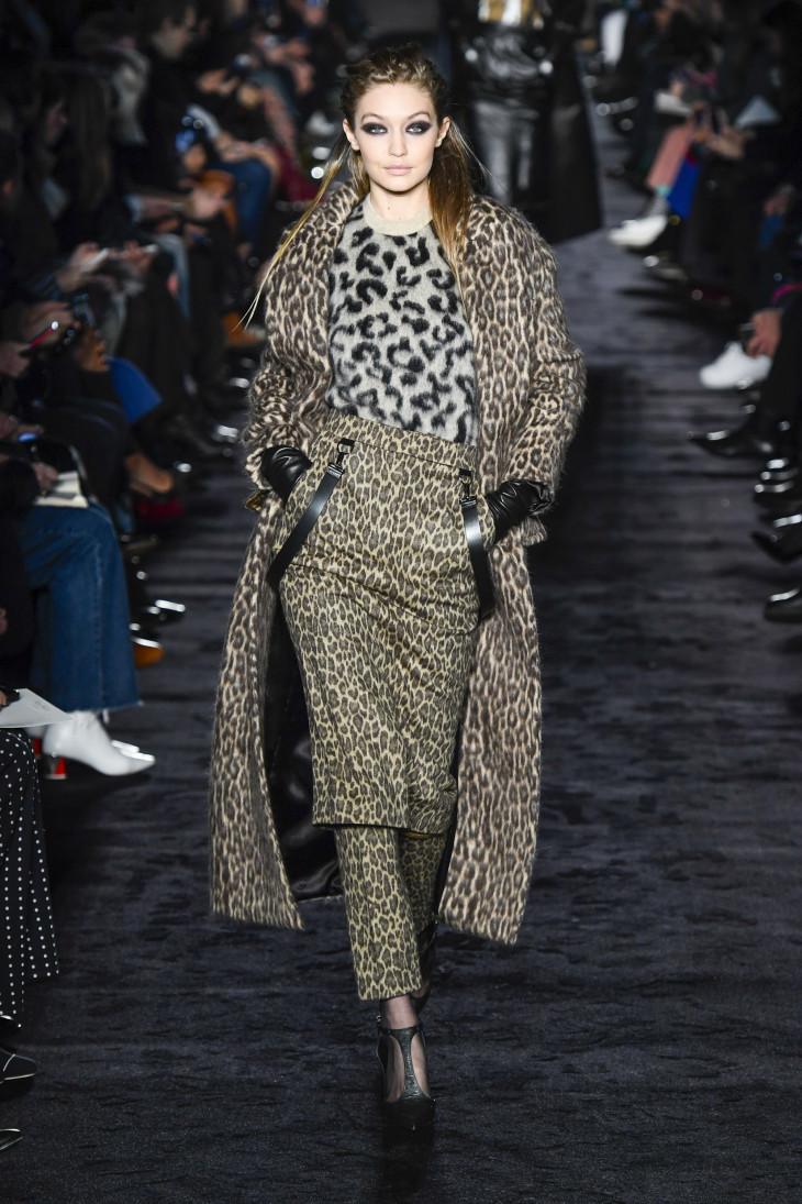 Леопардовый принт 2018 осень