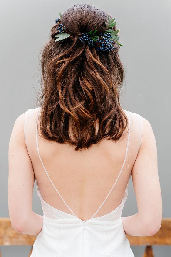 модная свадебная прическа