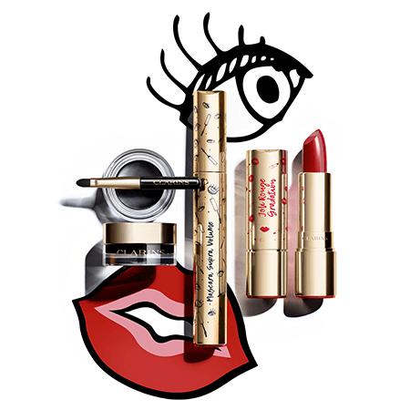 Коллекция макияжа Clarins Joli Rouge and Noir