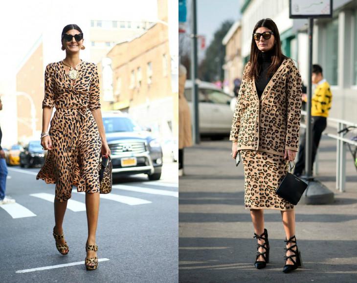 как выглядеть стильно в леопардовом образе