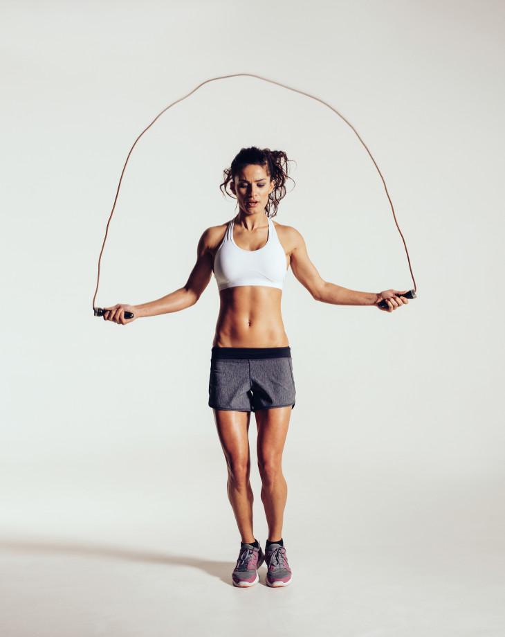 кроссфит упражнения скакалка