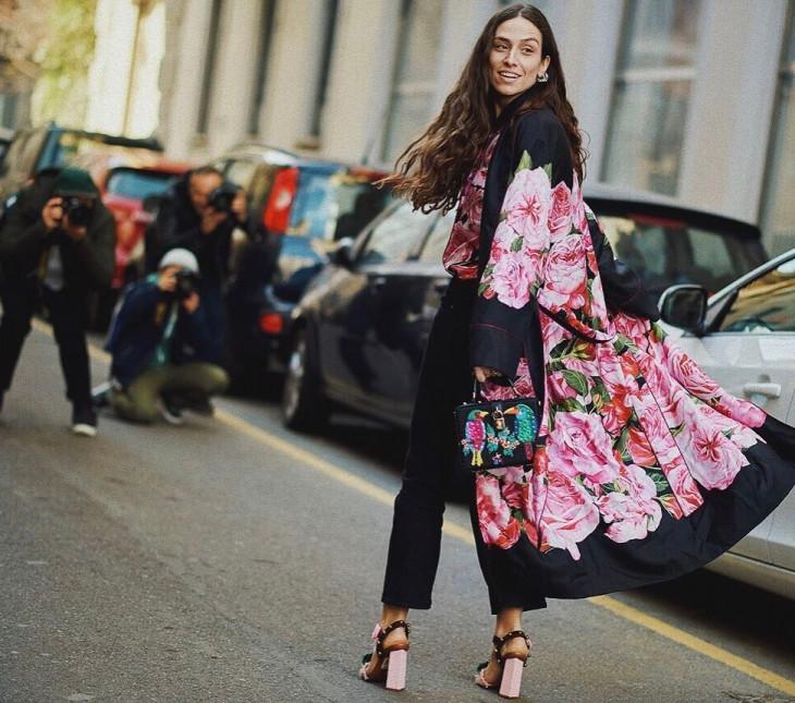 кимоно на осень 2018