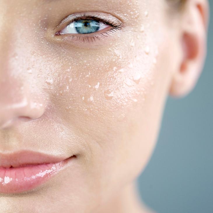 уход за кожей лица - жирная кожа