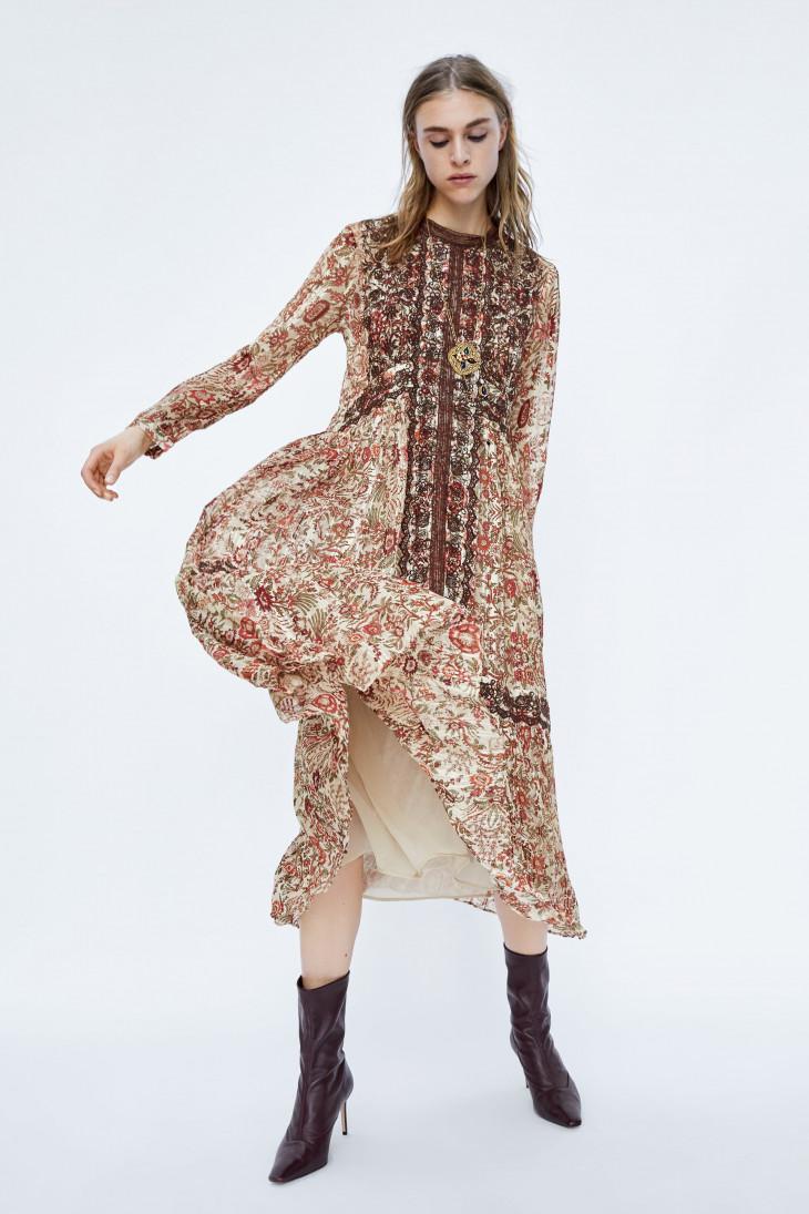 какие платья в моде осенью