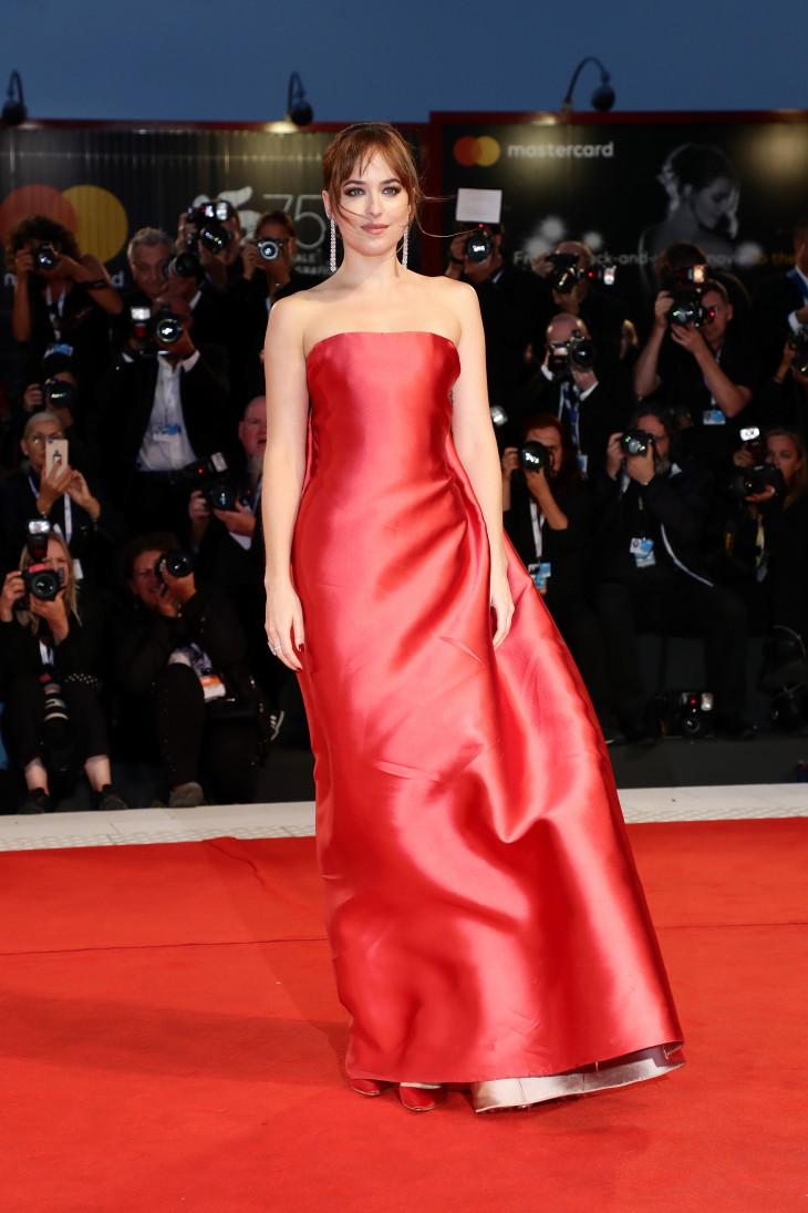Дакота Джонсон в Dior