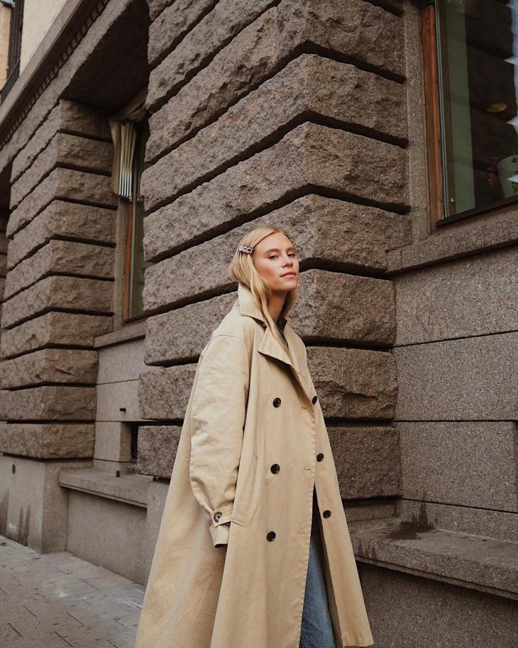 модное пальто на осень 2018 - тренчи