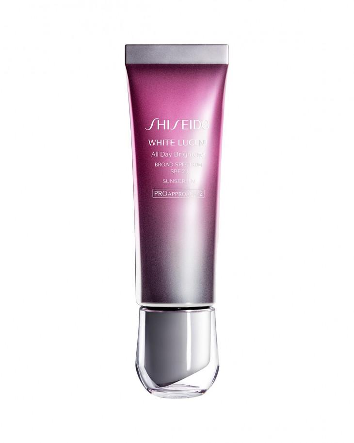 отбеливающей крем для лица Shiseido White Lucent All Day Brightener SPF 23