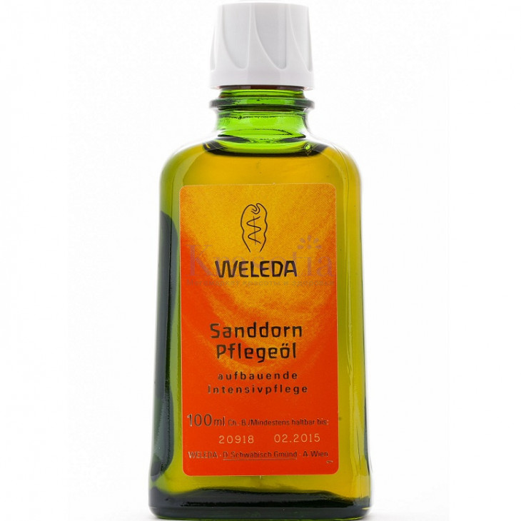 Масло для тела с облепихой Weleda