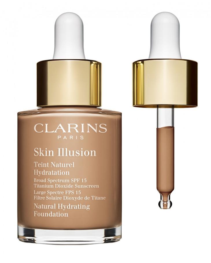 тональный крем Skin Illusion SPF 15 Clarins