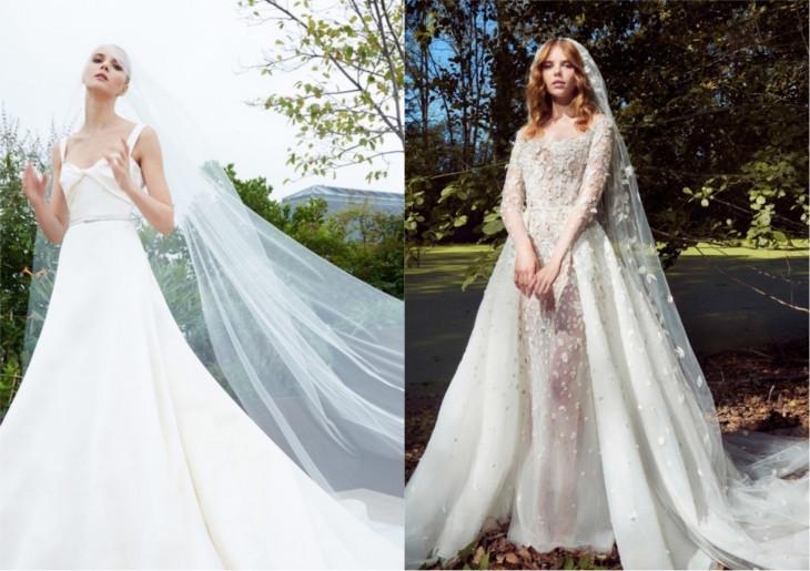 фаты свадебная мода 2019