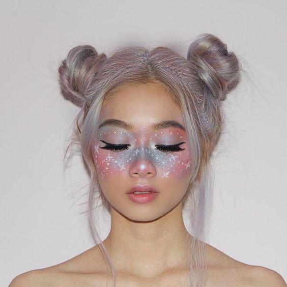 макияж на хэллоуин 2018